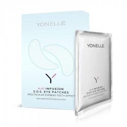 Yonelle H2O Infusion, infuzyjne płatki S.O.S. pod oczy, 4szt.