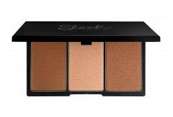 Sleek Makeup Face Form, paleta do konturowania 3 w 1 bronzer+róż+rozświetlacz, Medium