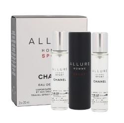 Chanel Allure Homme Sport, woda toaletowa, 3x20ml (M)