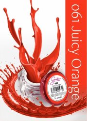 Semilac UV Gel Color 061 Juicy Orange, 5ml