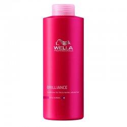 Wella Brilliance, odżywka do włosów farbowanych, cienkich i normalnych, 1000ml