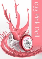 Semilac UV Gel Color 033 Pink Doll, 5ml