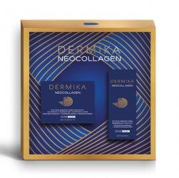 Dermika, zestaw prezentowy Neocollagen 70+, krem odżywczy 50ml + krem pod oczy 15ml