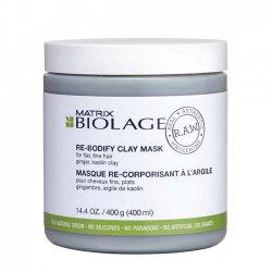 Biolage RAW Rebodify, maska dodająca objętości, 400ml