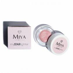 Miya mySTARlighter, naturalny rozświetlacz, rose diamond