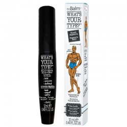 The Balm What's Your Type?, mascara pogrubiająca, czarna, 10ml