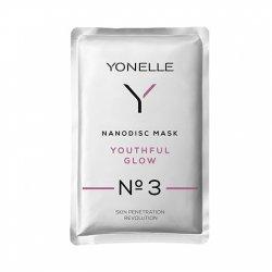 Yonelle Youthful Glow N°3, maska nanodyskowa młodzieńczy blask, saszetka 6ml