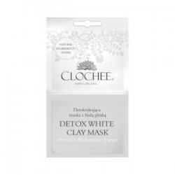 Clochee, maseczka detox z białą glinką, 2x6ml