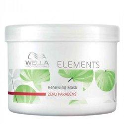 Wella Elements, maska regenerująca bez parabenów, 500ml