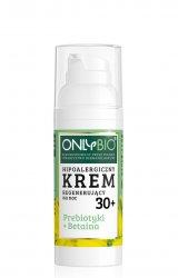 OnlyBio, hipoalergiczny krem regenerujący na noc 30+, 50ml