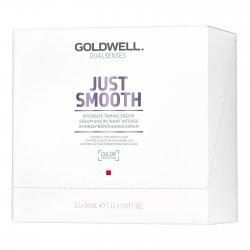 Goldwell Dualsenses Just Smooth, serum intensywnie ujarzmiające, 12x18ml