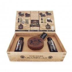 Dear Barber Hair Styling Collection I-Shaping Cream, zestaw: szampon 50ml, odżywka 50ml, krem modelujący 100ml