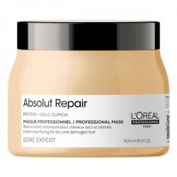 Loreal Absolut Repair, maska regenerująca włosy uwrażliwione, 500ml