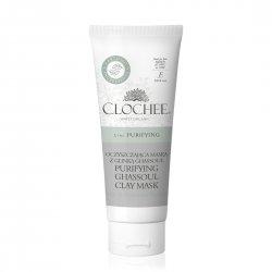 Clochee, oczyszczająca maska z glinką ghassoul, 100ml