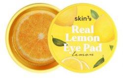 SKIN79 Real Lemon Eye Pad, cytrynowe płatki rozświetlające na oczy, 30 sztuk
