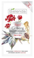Bielenda Red Ginseng, przeciwzmarszczkowa maseczka regenerująca, 8g