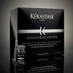 Kerastase Densifique Homme, kuracja kreująca gęstość włosów dla mężczyzn, ampułka 6ml