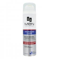 AA MEN Advanced Care, żel do golenia twardego zarostu, 200 ml