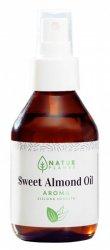 NaturPlanet, olej ze słodkich migdałów z aromatem zielonej herbaty, 100ml