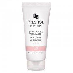 AA Prestige, oczyszczający żel peelingujący do mycia twarzy, 200ml