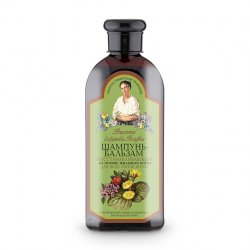 Babuszka Agafia, naprawczy szampon i odżywka 2w1 dla każdego rodzaju włosów, 350ml