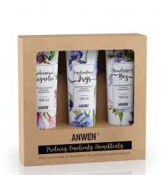 Anwen, zestaw 3 odżywek do średniej porowatości (magnolia, irys, bez)