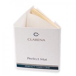 Clarena Perfect Mat, pudrowe bibułki matujące do twarzy