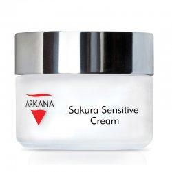 Arkana Sakura Sensitive, terapeutyczny krem dla skóry naczyniowej i wrażliwej, 50ml