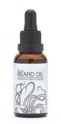 Brighton Beard, olejek do brody Drzewo sandałowe, Elemi i Lawenda, 30ml