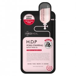 Mediheal H.D.P Pore-Stamping Black Mask EX., czarna maska oczyszczająco-napinająca, 25ml