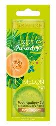 Bielenda Exotic Paradise Melon, 2w1 peelingujący żel do kąpieli i pod prysznic