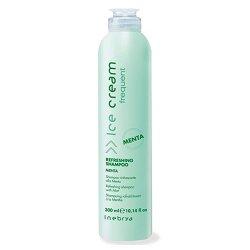 Inebrya Ice Cream, odświeżający szampon do włosów, miętowy, 300ml