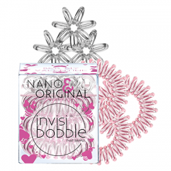 Invisibobble Nano&Original Bee Mine, zestaw gumek do włosów