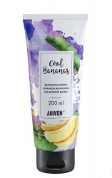 Anwen Cool Bananas, maska ochładzająca kolor do włosów blond, 200ml