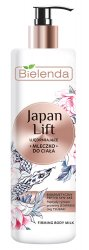 Bielenda Japan Lift, ujędrniające mleczko do ciała, 400ml