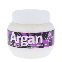 Kallos Argan, maska do włosów farbowanych, 275ml