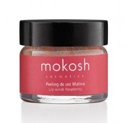 Mokosh, peeling do ust, malina, 15ml