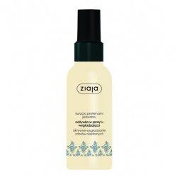 Ziaja, odżywka w sprayu do włosów niesfornych Intensywne Wygładzanie z jedwabiem, 125ml