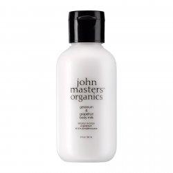 John Masters Organics, Geranium & Grejpfrut, mleczko do ciała, 60 ml