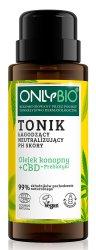 OnlyBio, tonik łagodzący i neutralizujący pH skóry, 30ml