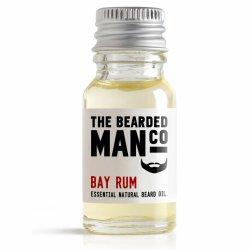 Bearded Man Bay Rum, olejek do brody Zatoka Rumowa, 10ml
