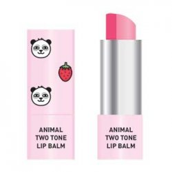 Skin79 Animal Two-Tone Lip Balm, balsam do ust w sztyfcie, Strawberry Panda, 3,8g