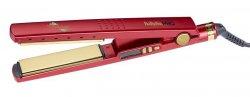 BaByliss PRO Titanium, prostownica do włosów, czerwona, BAB3091RDTE, edycja limitowana