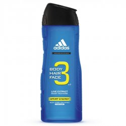 Adidas 3in1 Sport Energy, żel pod prysznic, 250ml (M)