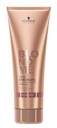 Schwarzkopf BlondMe, szampon nabłyszczający, Ciepły Blond, 250ml