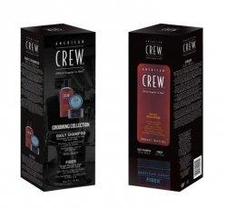 American Crew, zestaw: pasta Fiber 85g + szampon Daily Shampoo 250ml