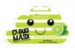Bielenda Cloud Mask, bąbelkująca maska rozświetlająca, Mohito, 6g
