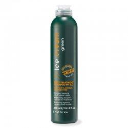 Inebrya Green Post Treatment, eko-szampon do włosów osłabionych i zniszczonych zabiegami, 300ml