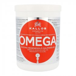 Kallos KJMN Omega, maska regeneracyjna z Omega-6 i olejem macadamia, 1000ml