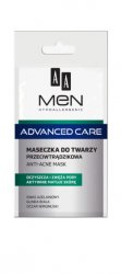 AA MEN Advanced Care, maseczka do twarzy przeciwtrądzikowa, 12ml
